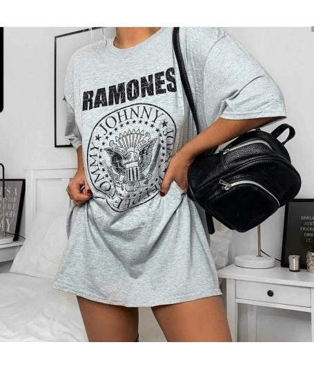 Camiseta Oversize Ramones