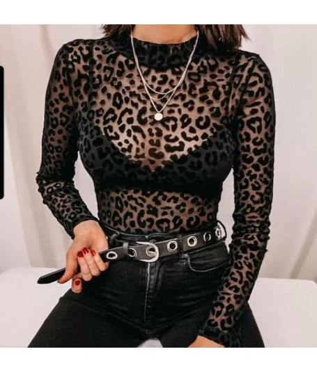 Body transparente Leopardo