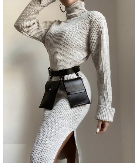 Vestido Jersey lana